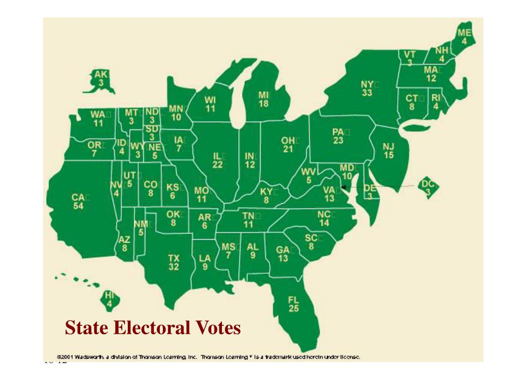 State Electoral Votes