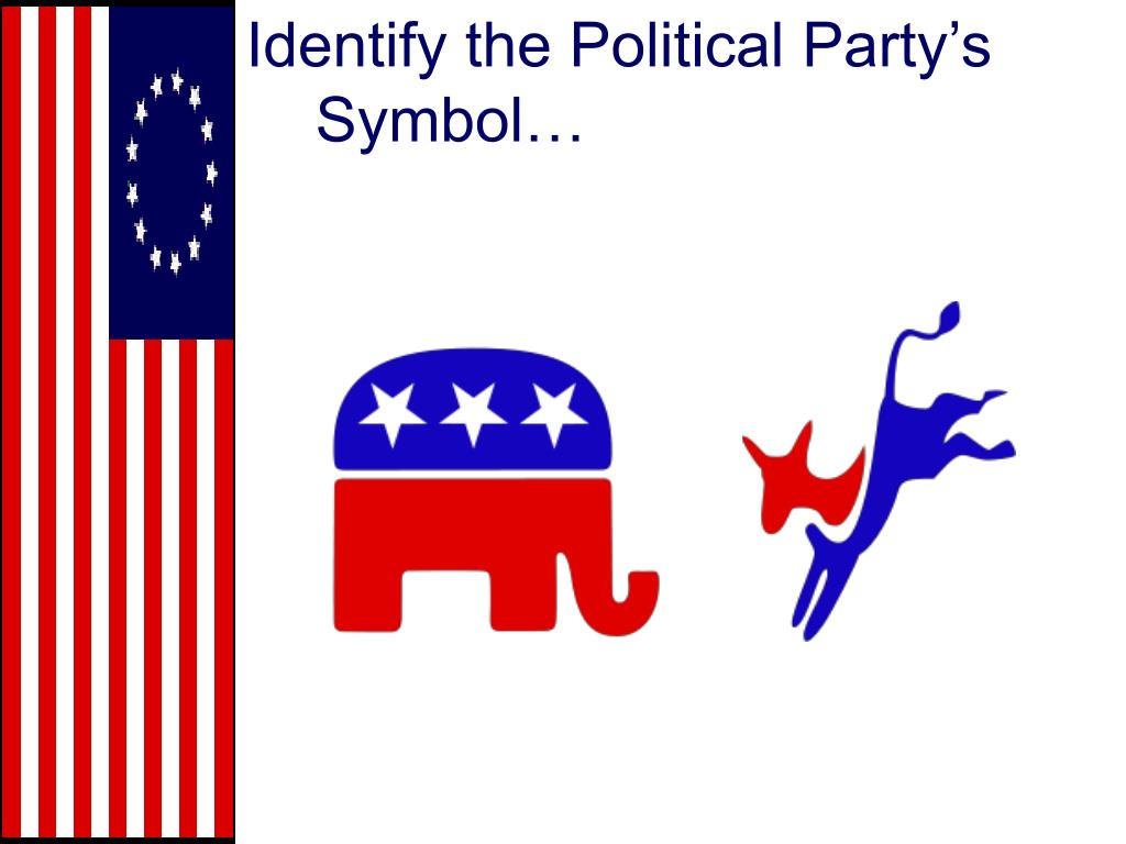 Identify the Political Party's