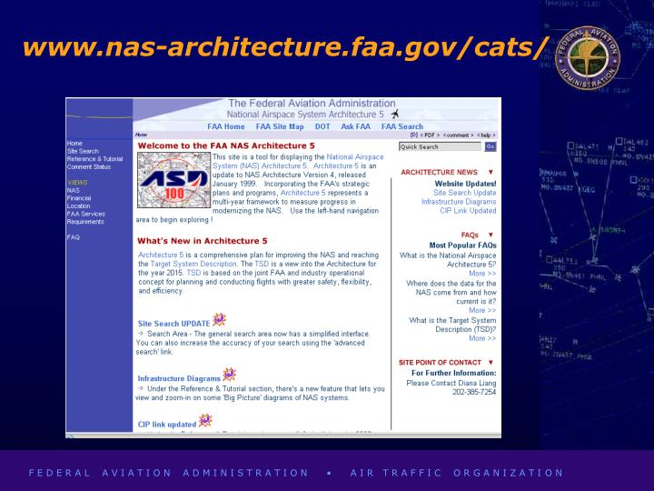 www.nas-architecture.faa.gov/cats/