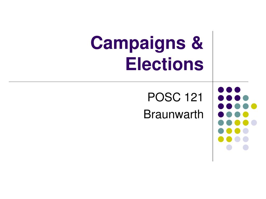 campaigns elections