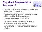 why about representative democracy