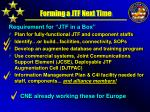 forming a jtf next time