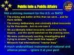 public info public affairs