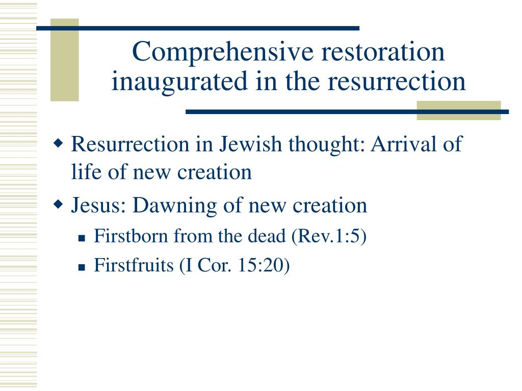 Comprehensive restoration inaugurated in the resurrection