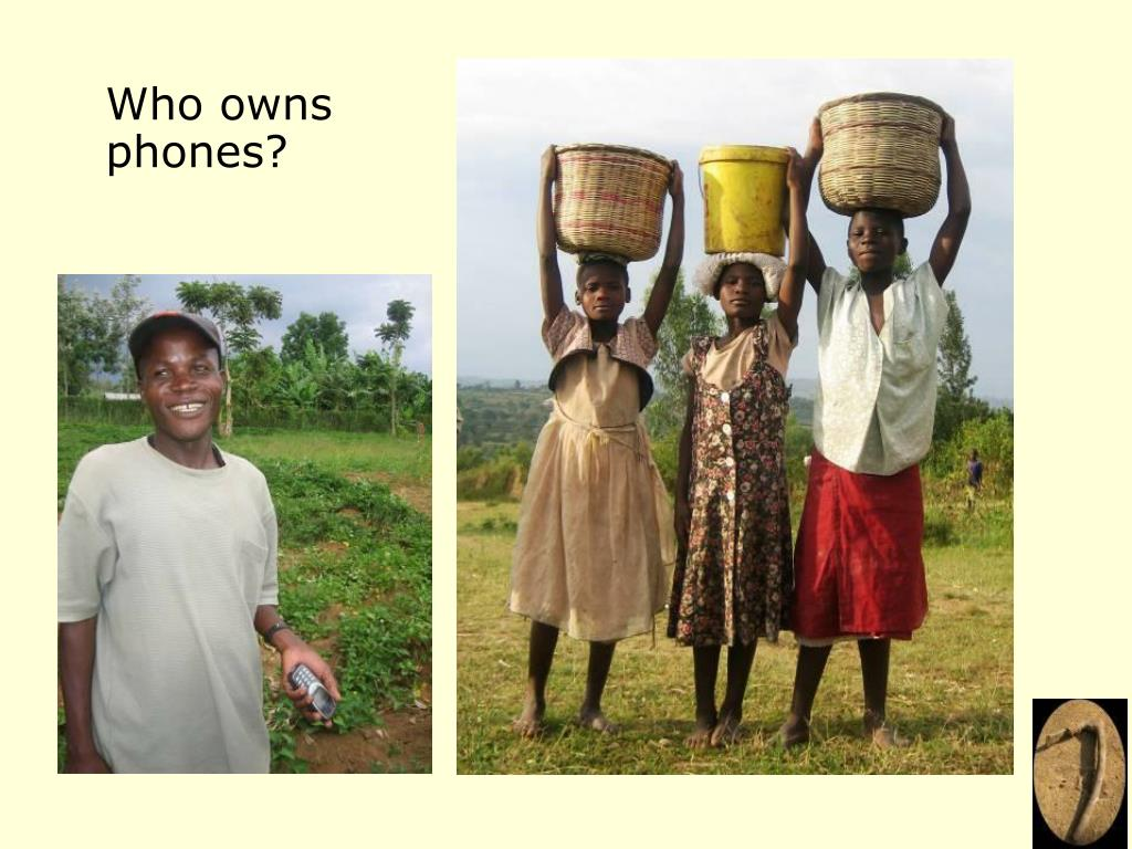 Who owns phones?