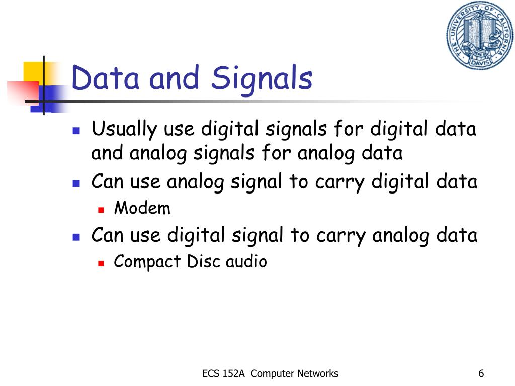 Data and Signals
