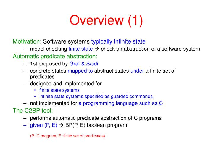 Overview 1
