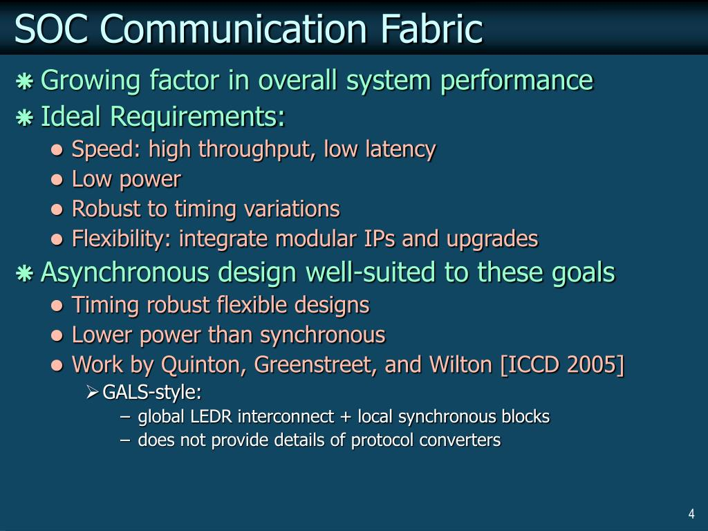 SOC Communication Fabric
