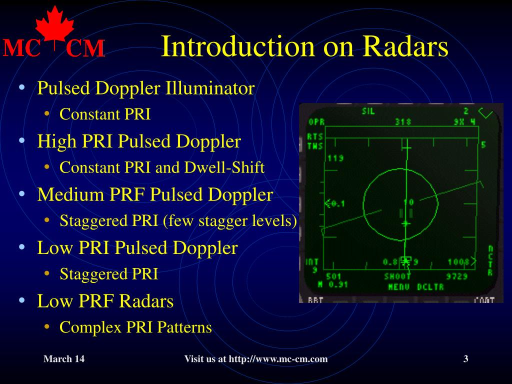 Introduction on Radars