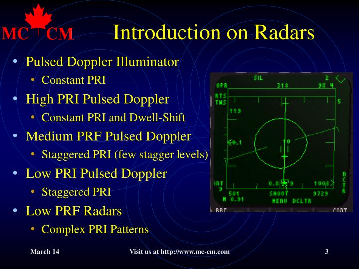 Introduction on radars l.jpg