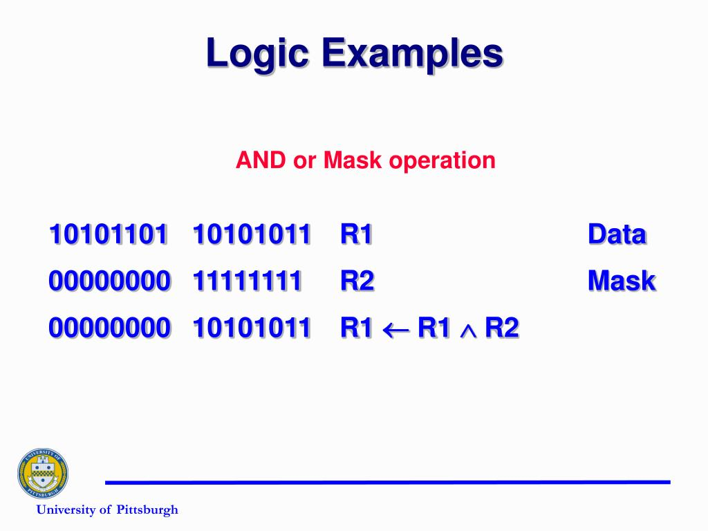 Logic Examples