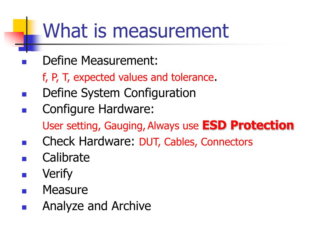 What is measurement