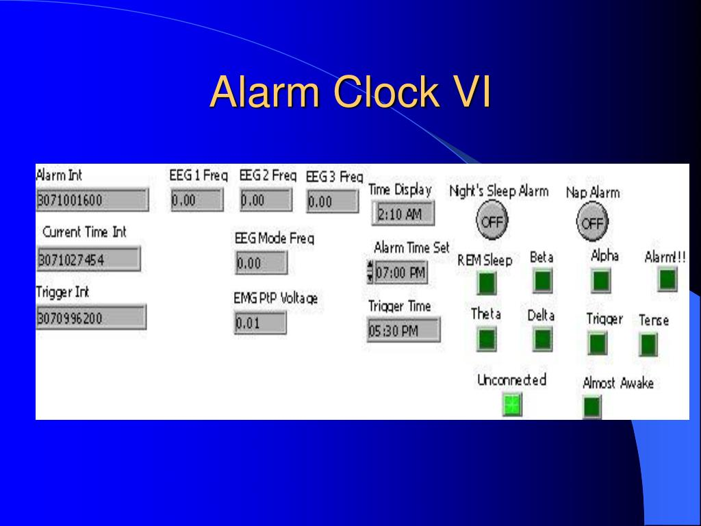 Alarm Clock VI