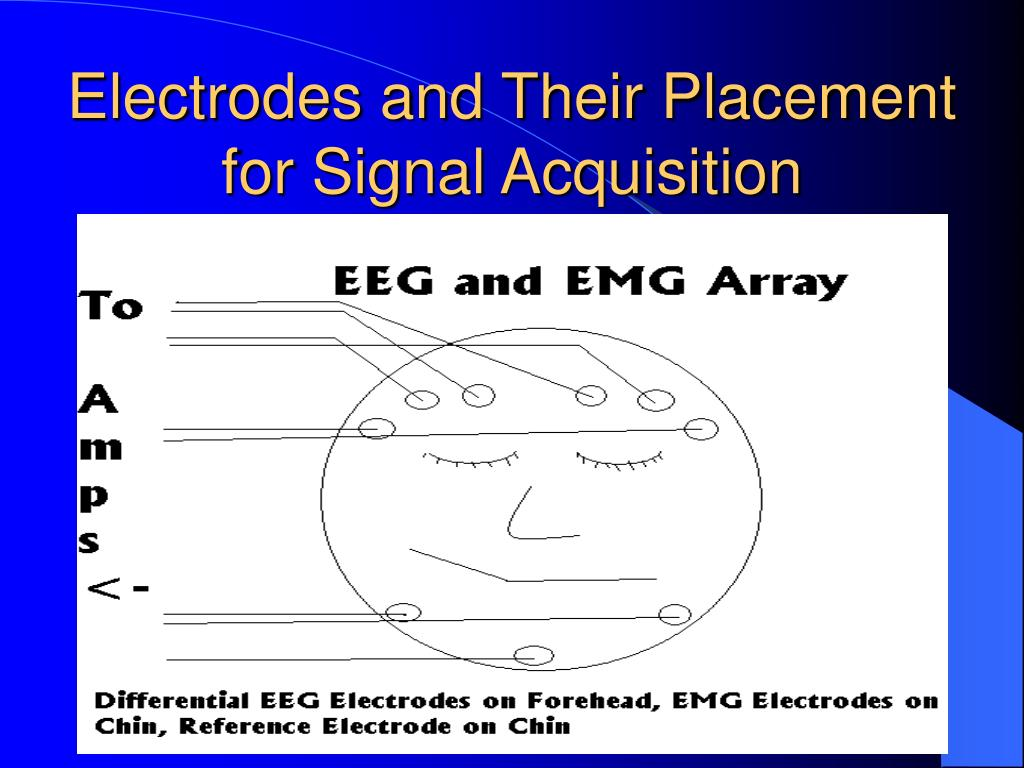 Electrodes and Their Placement for Signal Acquisition