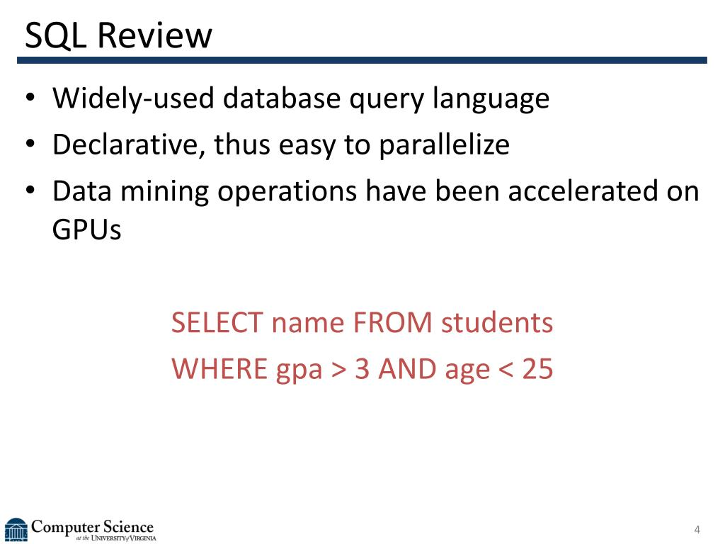 SQL Review