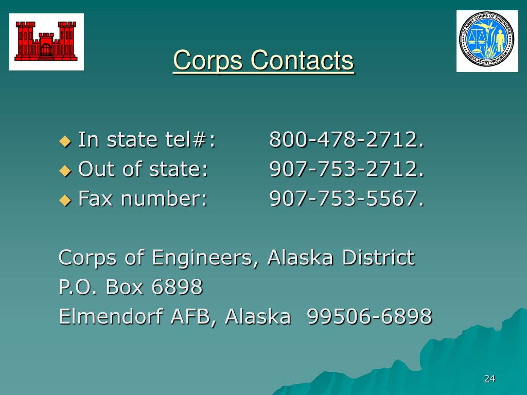 Corps Contacts