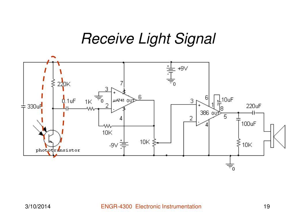 Receive Light Signal