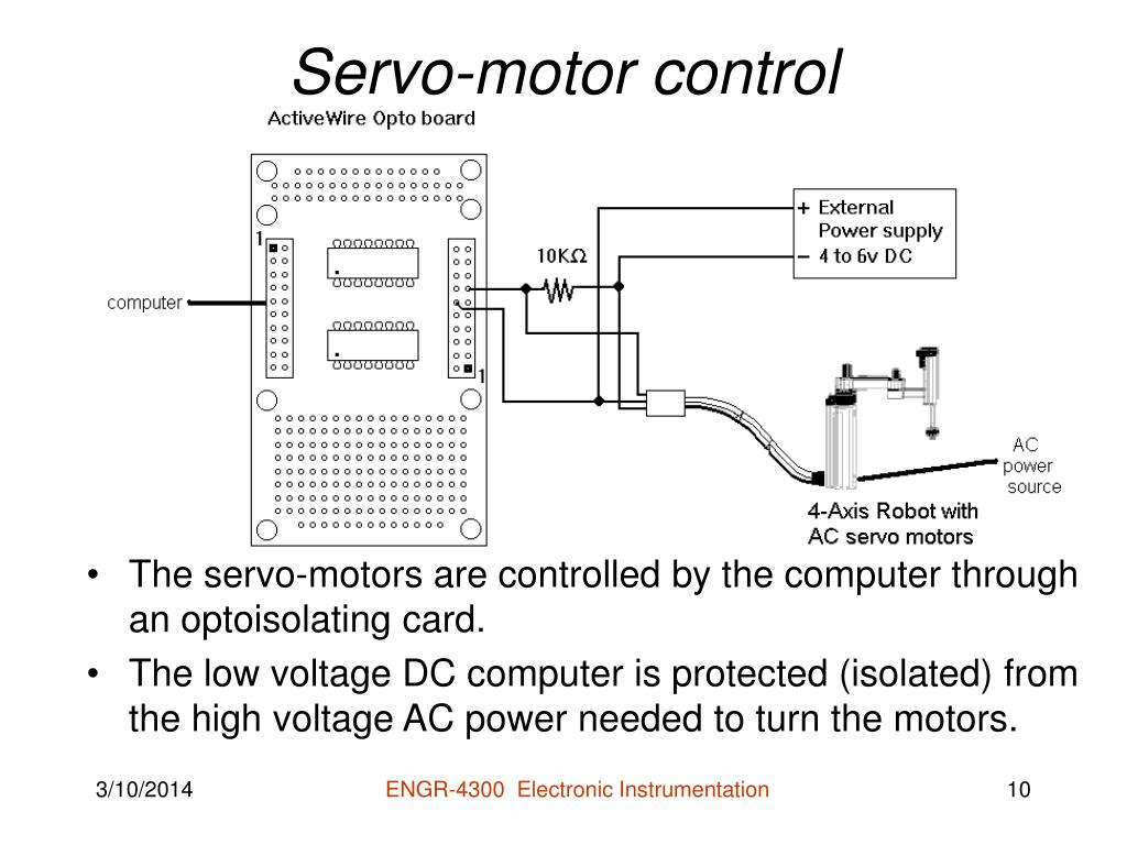 Servo-motor control