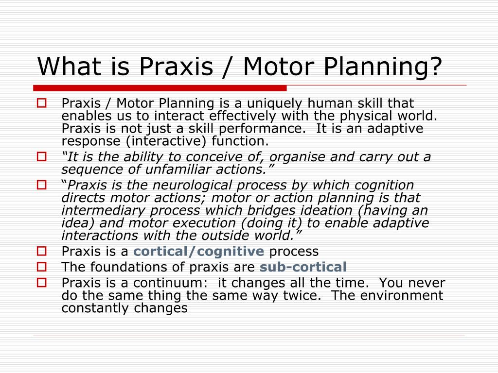 ppt the significance of motor planning and dominance
