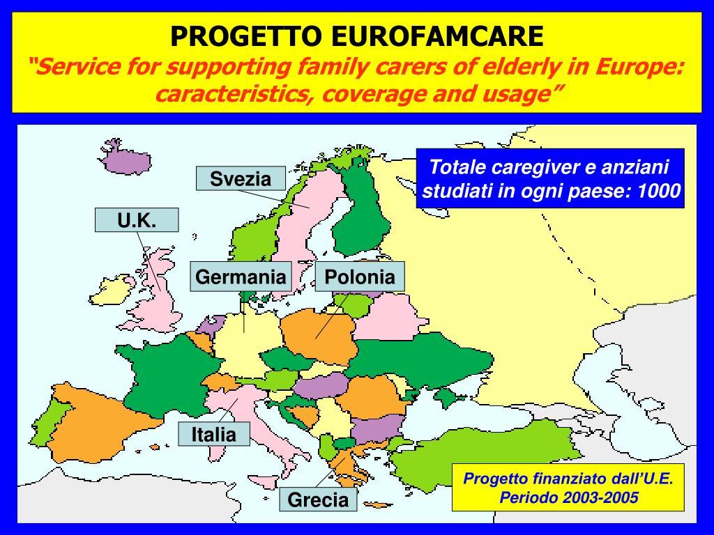 PROGETTO EUROFAMCARE