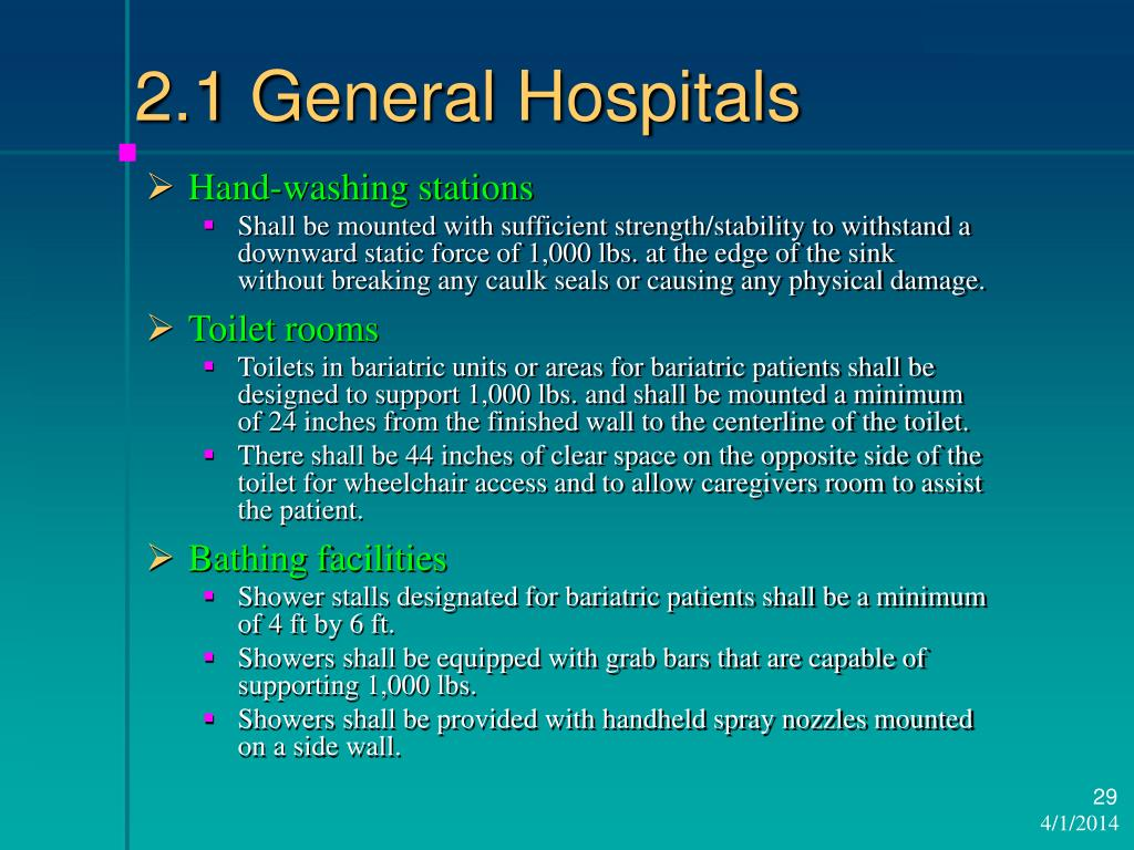 2.1 General Hospitals
