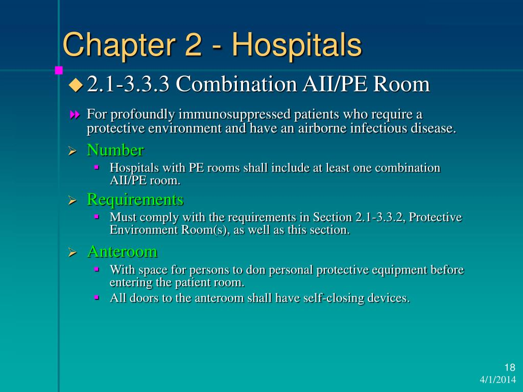 Chapter 2 - Hospitals