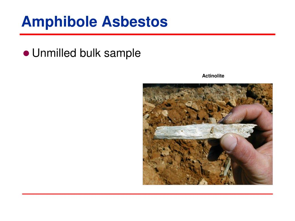 Amphibole Asbestos