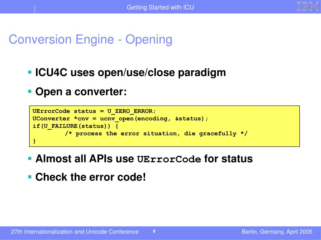 Conversion Engine - Opening