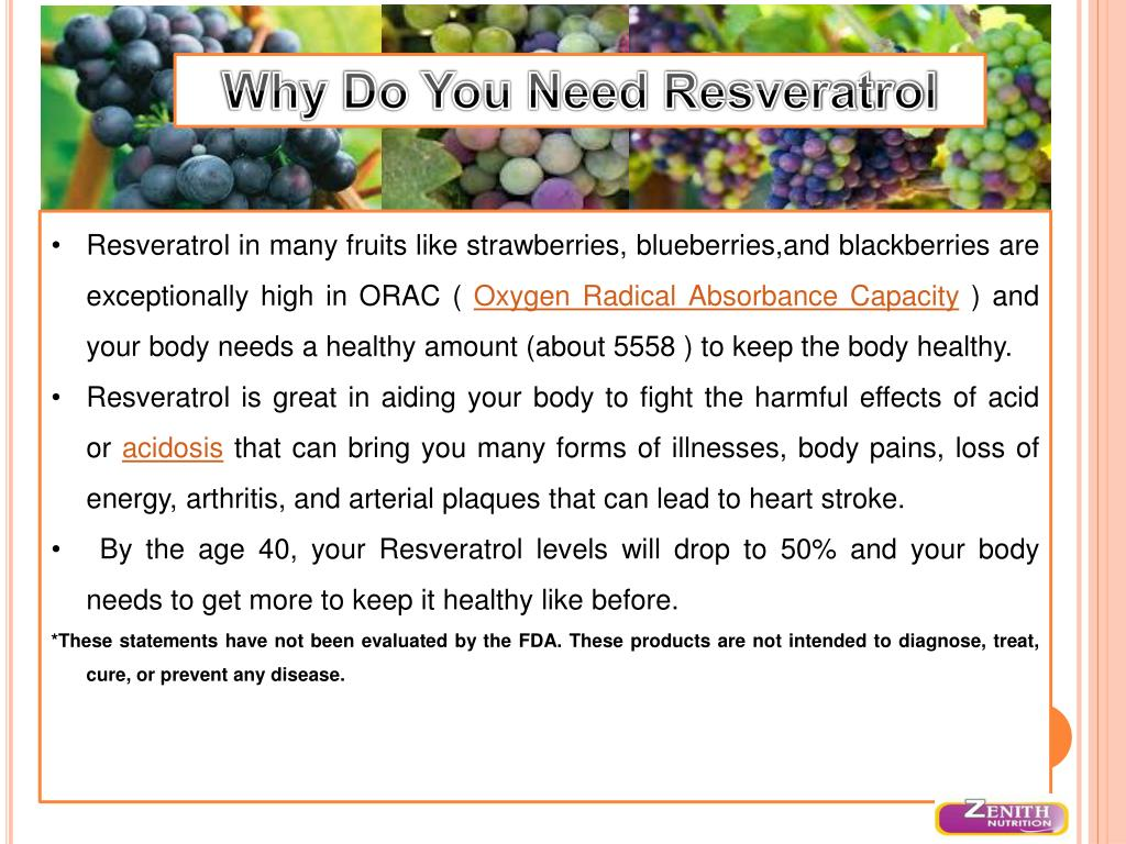 Why Do You Need Resveratrol