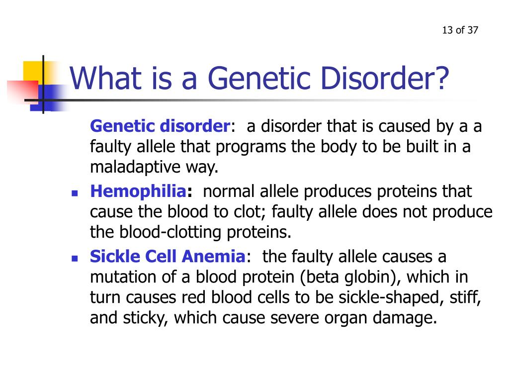 What is a Genetic Disorder?