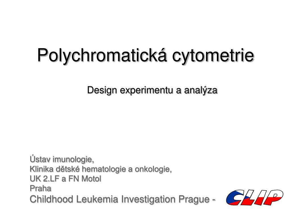Polychromatická cytometrie