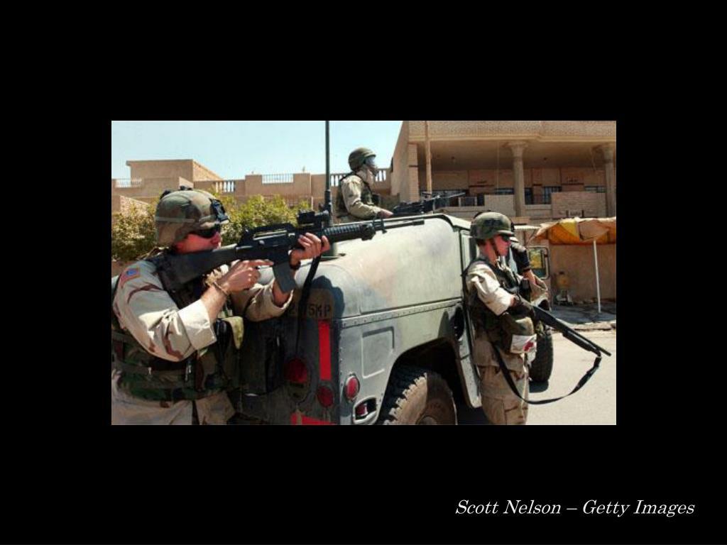 Scott Nelson – Getty Images