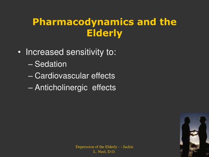 Pharmacodynamics and the Elderly
