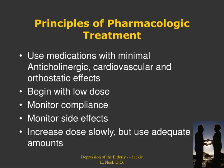 Principles of Pharmacologic Treatment