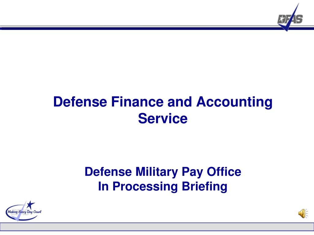 Defense Finance and Accounting Service