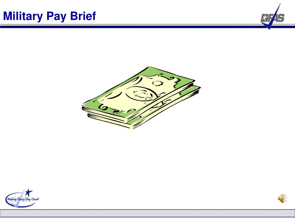 Military Pay Brief