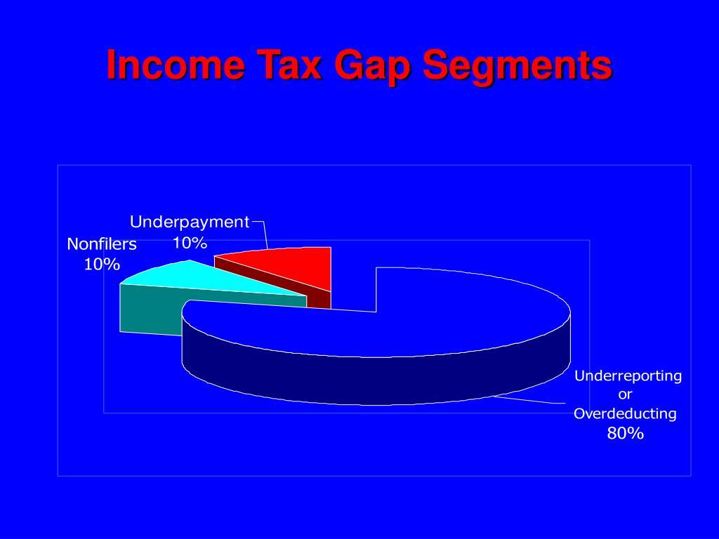 Income Tax Gap Segments