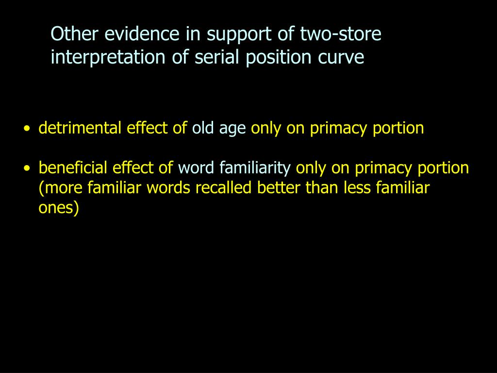the effect of word familiarity on