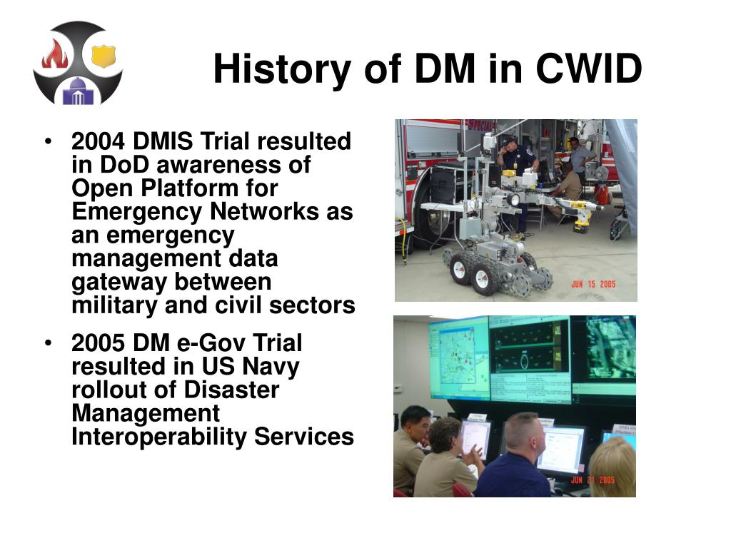 History of DM in CWID