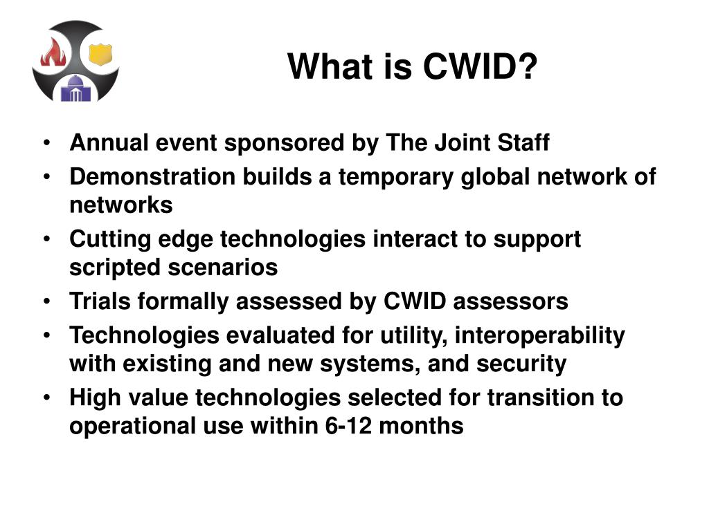 What is CWID?