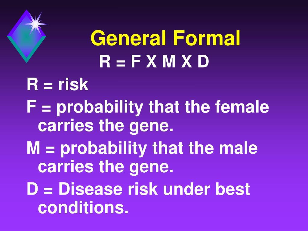 General Formal
