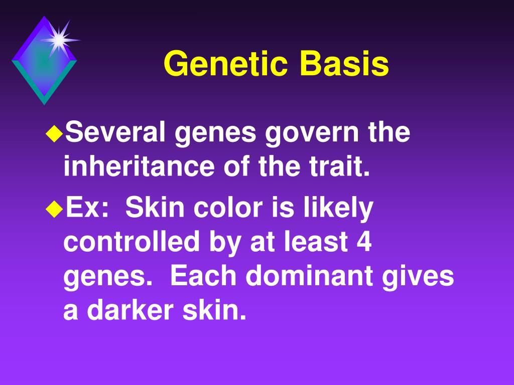 Genetic Basis