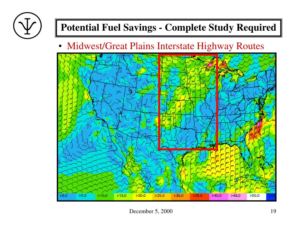 Potential Fuel Savings - Complete Study Required