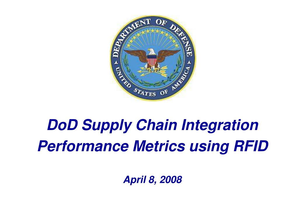 DoD Supply Chain Integration