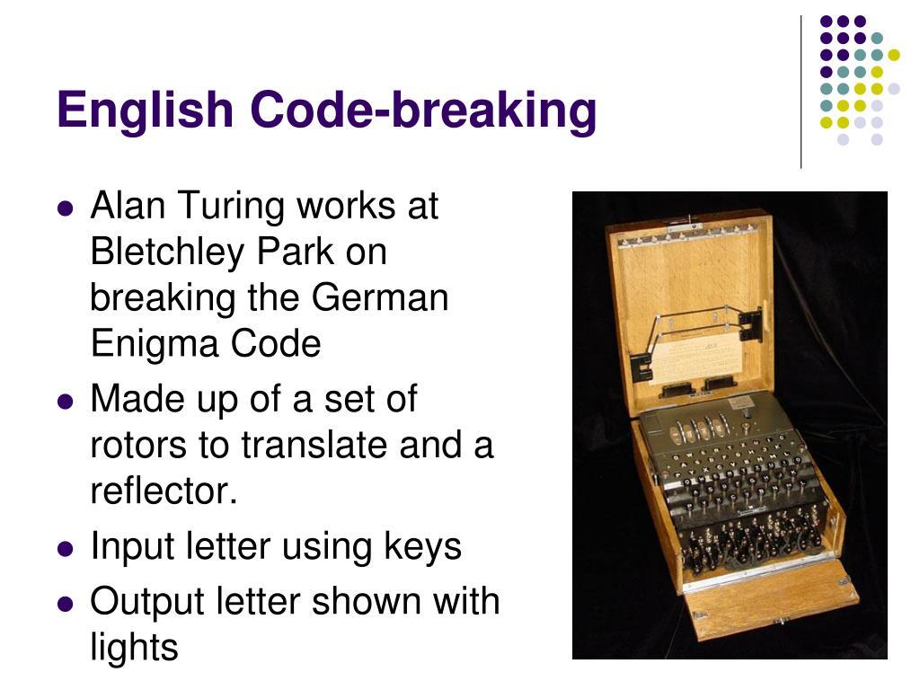 English Code-breaking
