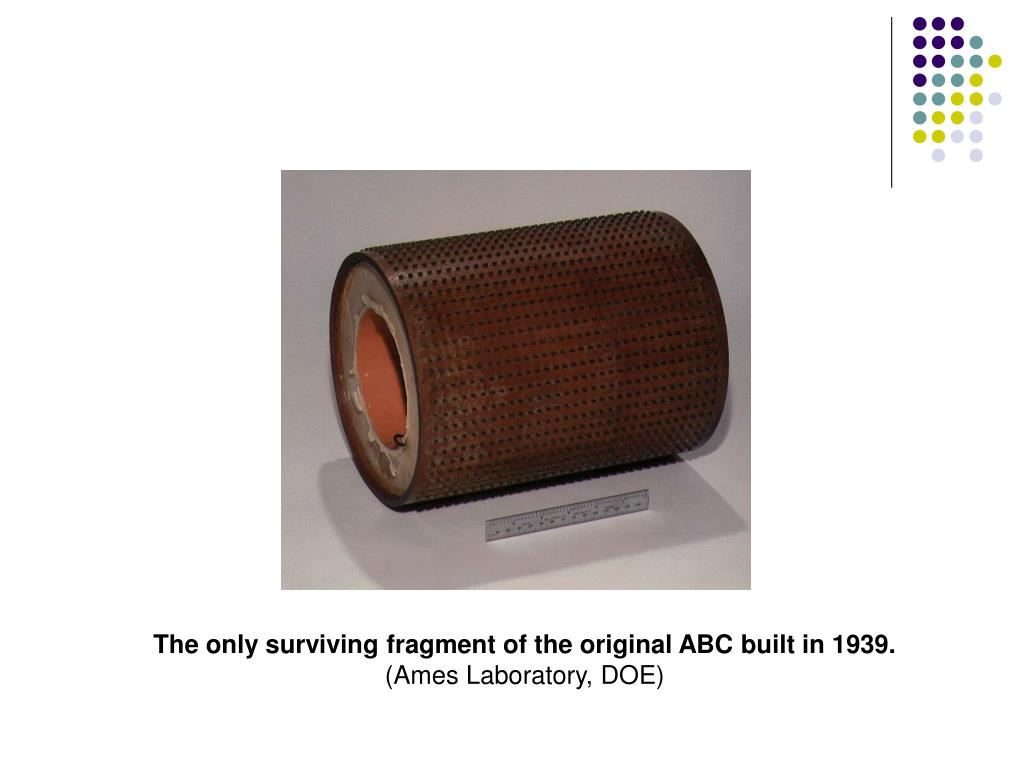 The only surviving fragment of the original ABC built in 1939.