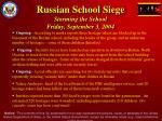 russian school siege storming the school friday september 3 20048