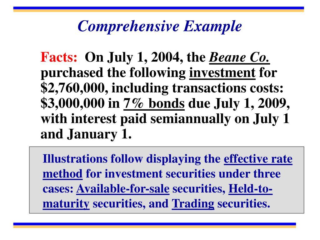 Comprehensive Example
