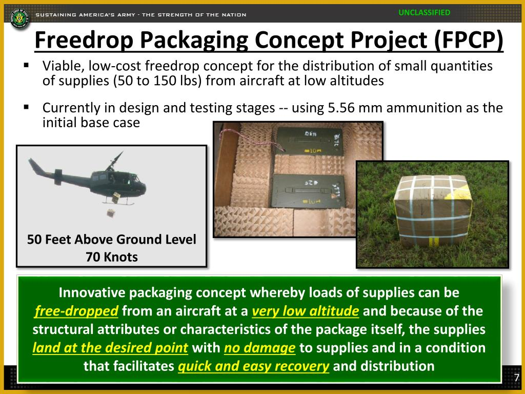 Freedrop Packaging Concept Project (FPCP)