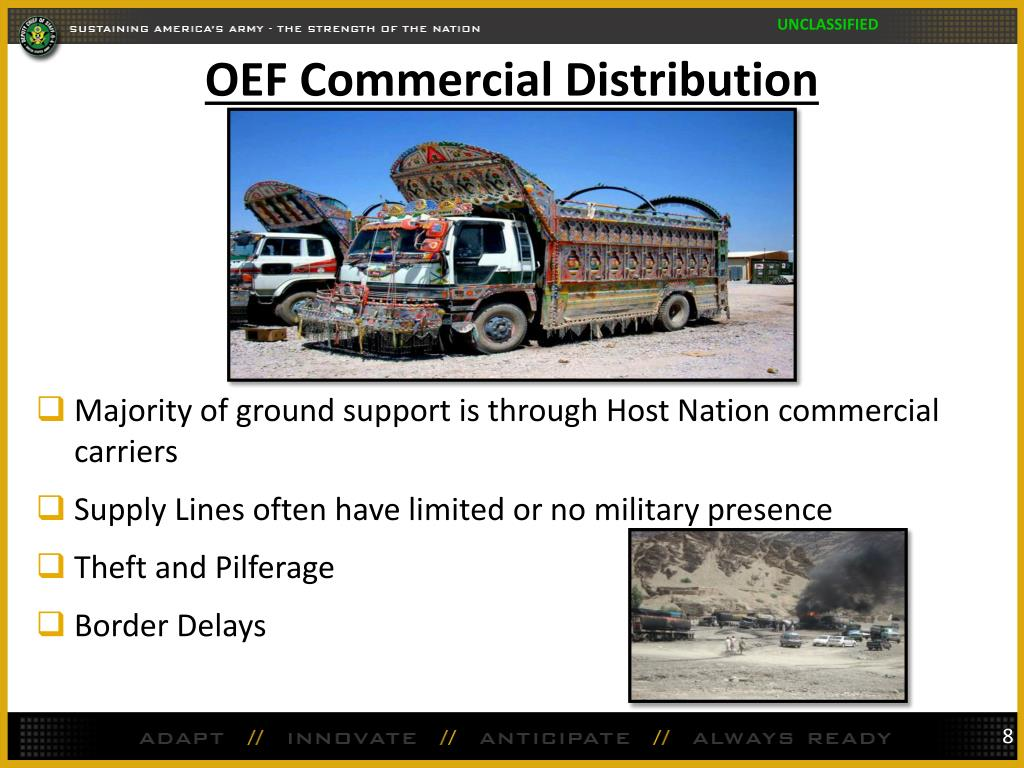 OEF Commercial Distribution